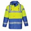 Kontraszt Traffic kabát sárga / royal kék