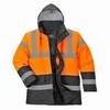 Kéttónusú Traffic kabát fekete/Narancs