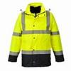 Jól láthatósági 4 az 1-ben Contrast Traffic kabát  sárga/Kék
