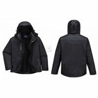 Radial 3 az 1-ben kabát fekete