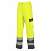 Hi-Vis Contrast nadrág - bélelt  sárga/Kék