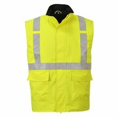 Bizflame Rain Hi-Vis antisztatikus FR mellény sárga