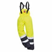 Hi-Visulti-Protection nadrág sárga / tengerészkék