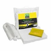 PW Spill (20 liter) olajfelszívó készlet (6 db) fehér