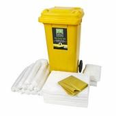 PW Spill (120 liter) olajszorbens készlet fehér