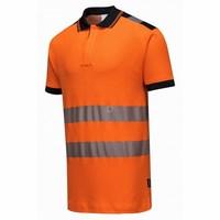 Jól láthatósági Vision pólóing narancs