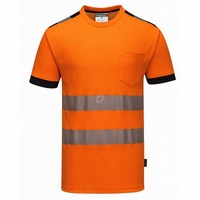 Jól láthatósági Vision póló narancs