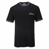 Teew Contrast póló fekete