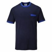 Texsew Contrast póló tengerészkék