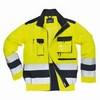 Texo Hi-Vis kabát sárga / tengerészkék