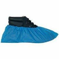 Gumis nylon cipővédő, kék 100 db/csomag