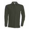 FÉRFI LONG SLEEVE PIQUE POLO SHIRT