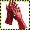 REDSTART PVC-be teljesen mártott pamutkesztyű, 27 cm