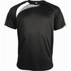SHORT SLEEVE SPORTS T-SHIRT /bl/wh/stg