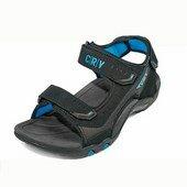 CROWAN CRV szandál kék/fekete