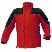 ANZAC kabát, polár bélés piros