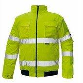 CLOVELLY 2in1 pilóta dzseki sárga