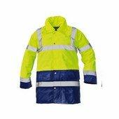 SEFTON kabát HV sárga/sötétkék
