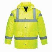 SEFTON kabát HV sárga