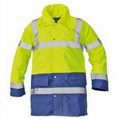 SEFTON kabát HV sárga/kék