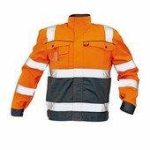 COLYTON HiVis kabát narancs-szürke
