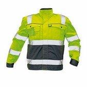 COLYTON HiVis kabát sárga-szürke
