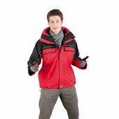 BALTORO férfi kabát piros L