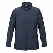 BE-02-003 softshell pulóver navy