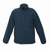 Polár pulóver -  Cipzáros kék