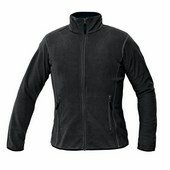 GOMTI női polár kabát fekete