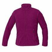 GOMTI női polár pulóver sötét rózsaszín