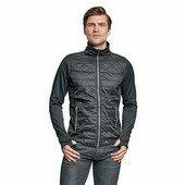 SVANEKE softshell/nylon kabát fekete