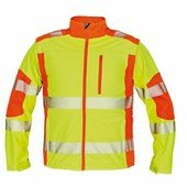 LATTON softsh. kabát HV sárga/narancs