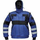 MAX WINTER REFLEX téli dzseki kék/fekete