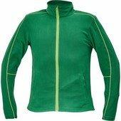 WESTOW fleece pulóver zöld