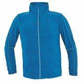 WESTOW fleece pulóver kék