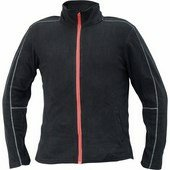 WESTOW fleece pulóver fekete