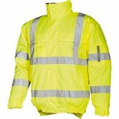 HOBSON HV téli pilot kabát HV sárga