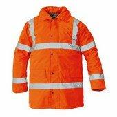 SEFTON kabát HV narancssárga