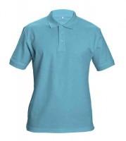 DHANU piké póló ég kék