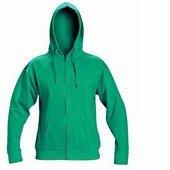 NAGAR csuklyás pulóver zöld