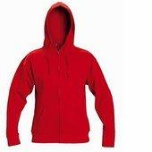 NAGAR csuklyás pulóver piros