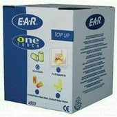 EAR SOFT Dobozos utántöltő, 500 pár füldugó, 4112-0 tárhoz