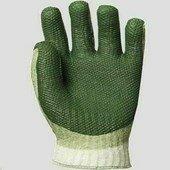 Prodefender vulkanizált, szellőző hátú, zöld latex