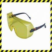 3M 2802 munkavédelmi szemüveg sárga biztonsági látómező
