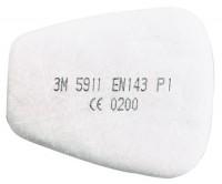 3M P1 részecskeszűrő rögzíthető az 501 típusú elemmel - 3M 5911
