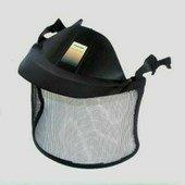 Peltor V40C acélhálós arcvédő silddel, fejkengyeles Peltor