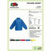 Fruit Kids College Jacket-gyerekek kabát