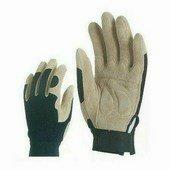 Sofőrkesztyű sertés velúrbőr, belső párnázat, PES kézhát