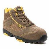 ASCANITE (S1P HRO CK) khaki nubuk bőr/vászon sportcipő és bakanc